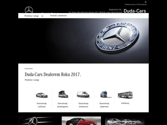 Dealer Mercedes-Benz - Duda Cars S.A Wrocław